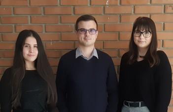 Kari eredmények az egyetemi Kazinczy-versenyen