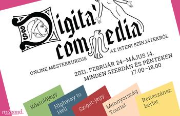 Digita' Commedia - mesterkurzus az Isteni színjátékról