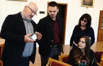 Dr. Lénárd András látogatása a SEK-en