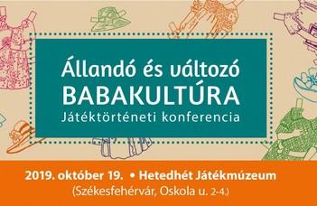 Játéktörténeti konferencia a Hetedhét Játékmúzeumban