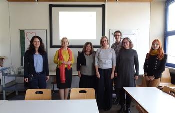 Kollégáink látogatása a  Katholische Stiftungshochschule müncheni intézményébe