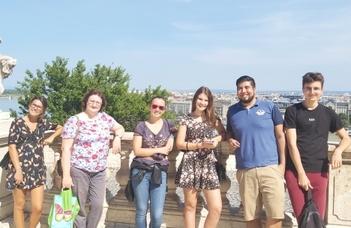 Exploring Budapest with Maya Lo Bello