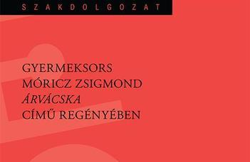 Büszkeségeink - nyomtatásban is megjelent Novák Sára Nelli szakdolgozata