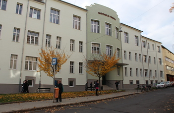 Eötvös Loránd University Faculty of Primary and Pre-School Education