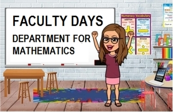 Faculty days - Department for mathematics
