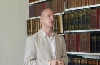 Dr. Hoványi Márton a Yale-en