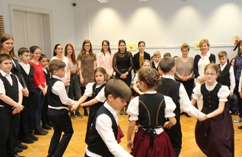 German National Folk Dance Performance and Opening of the German Story Room