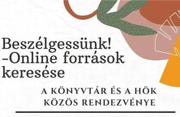 2021.02.24-én 18.00-kor megrendezésre kerül az ELTE TÓK Könyvtárosok és a HÖK közös rendezvénye!