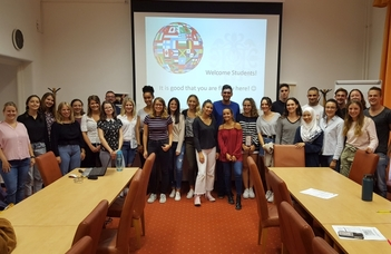 The Erasmus+ and Makovecz students are here!
